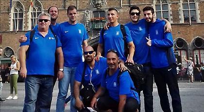 Μετάλλιο και άνοδο θα διεκδικήσει η Εθνική γκόλμπολ ανδρών στο Ευρωπαϊκό
