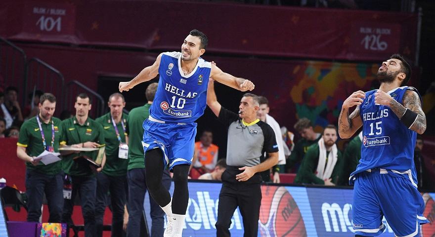 Ευρωμπάσκετ: Μεγάλη εμφάνιση από την Εθνική Ελλάδος | Πέρασε στα προημιτελικά!