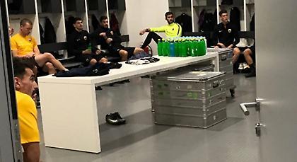 Οι πανηγυρισμοί των παικτών της ΑΕΚ και η ατάκα ανθρώπου της UEFA