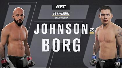 Τζόνσον εναντίον Μποργκ στο UFC 216