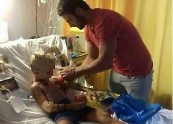 Μεγαλείο ψυχής από τον Γιώργο Αγγελόπουλο - Στο νοσοκομείο για να δει άρρωστο παιδάκι!