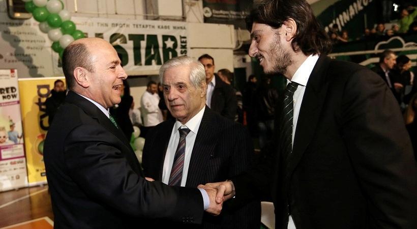 Συζήτησαν για όλα Αλαφούζος-Γιαννακόπουλος