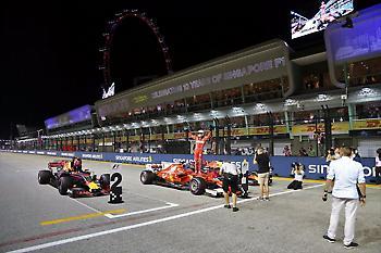 Πήρε την pole position ο Φέτελ, απογοήτευση οι Mercedes