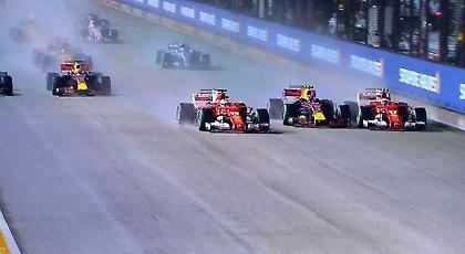 Εκτός και οι δύο Ferrari στο γκραν πρι της Σιγκαπούρης