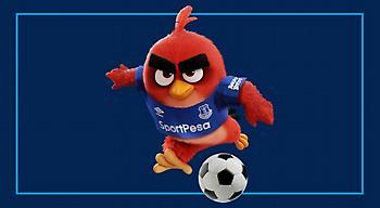 Χορηγός της Έβερτον το «Angry Birds»