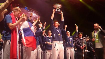 20.000 Σλοβένοι «χόρευαν» στη βροχή για τους πρωταθλητές Ευρώπης! (pics/vids)