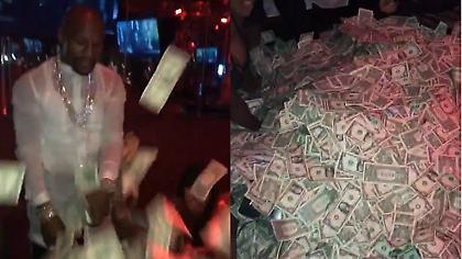 Ο Μεϊγουέδερ έχει λεφτά για πέταμα. Κυριολεκτικά (vid)
