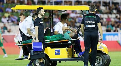 Η στιγμή του σοβαρού τραυματισμού του Λουτσιάνο (video)