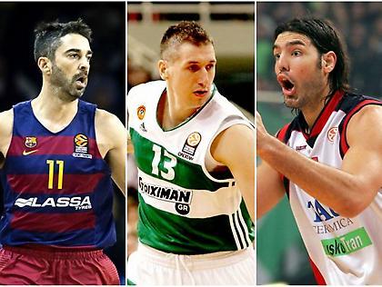 Ευρωλίγκα: Παίκτες-σύμβολα μιας ομάδας