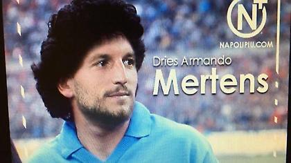 Ο Μέρτενς έγινε… Μαραντόνα (pic/video)