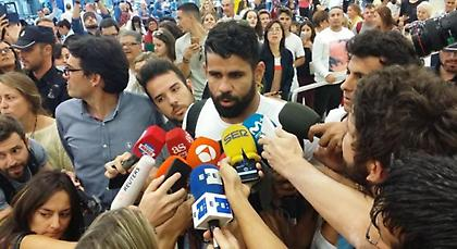 Ντιέγκο Κόστα: «Επέστρεψα στο σπίτι μου»