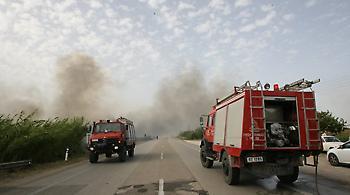 Υπό μερικό έλεγχο οι φωτιές στη Δράμα - Σε επιφυλακή για αναζωπυρώσεις