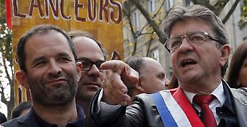 Ο Μελανσόν έβγαλε δεκάδες χιλιάδες διαδηλωτές στο Παρίσι για τα εργασιακά