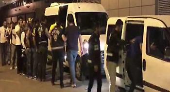 46 συλλήψεις οπαδών στο ντέρμπι Φενέρ-Μπεσίκτας!