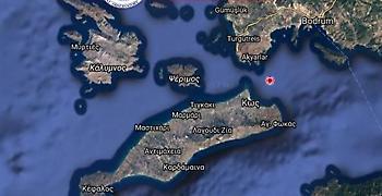 Σεισμός 4,5 βαθμών πολύ κοντά στα παράλια της Κω