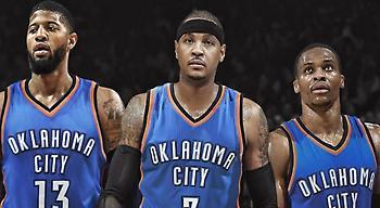 Τζορτζ-Ουέστμπρουκ-Άντονι: Η κορυφαία all star τριάδα στο NBA (photo)