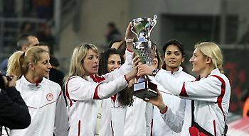 Η νέα φανέλα των κοριτσιών του Ολυμπιακού (pics)