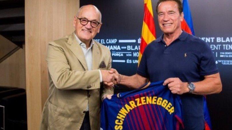 Σβαρτζενέγκερ: «Ο Μέσι είναι ο... Εξολοθρευτής του ποδοσφαίρου (pics)