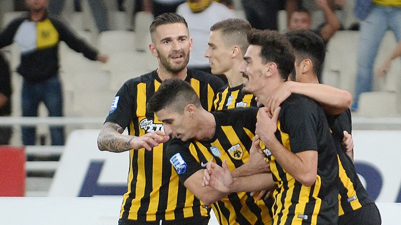 Η ΑΕΚ και τα τρία γκολ σε ντέρμπι από Ελληνες!