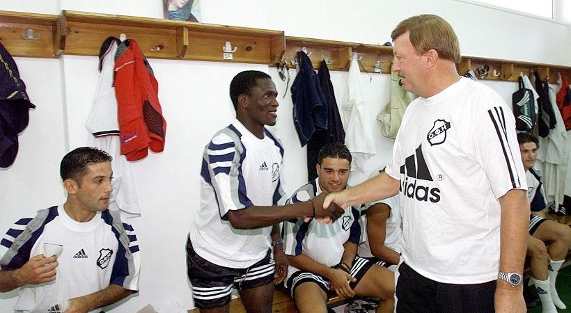 Φιλικό της Εθνικής 2004 με τον ΟΦΗ προς τιμήν του Γκέραρντ!