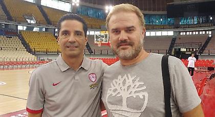 Ο Γιάννης Σφαιρόπουλος στο sportfm.gr: «Όσο είμαι εδώ τα πάντα για τον Ολυμπιακό»