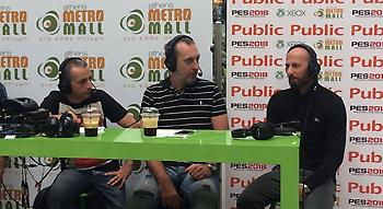 LIVE: Ο ΣΠΟΡ FM και τα Public παρουσιάζουν το PES 18