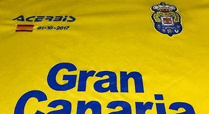 Η Λας Πάλμας θα παίξει κόντρα στην Μπαρτσελόνα με την ισπανική σημαία στην εμφάνιση της (pic)