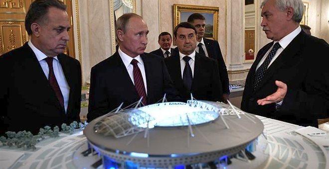 Πούτιν: Προχωρούν οι εργασίες για το Μουντιάλ 2018, αλλά με καθυστερήσεις