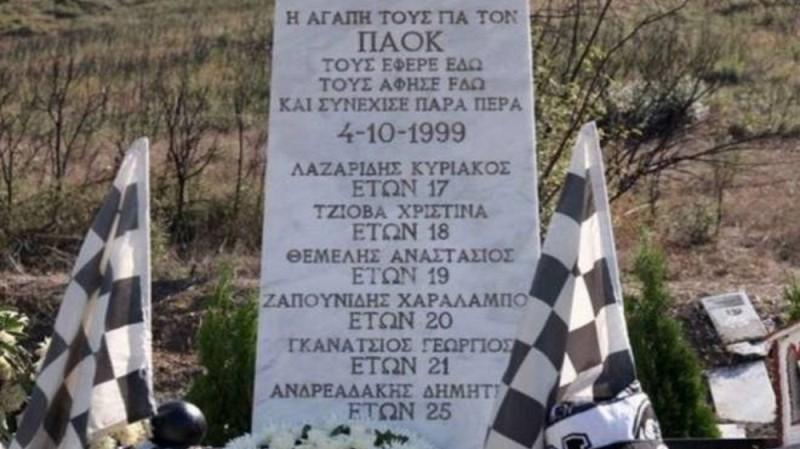 Συγκινεί η ανακοίνωση του ΠΑΟΚ για την επέτειο των θυμάτων στα Τέμπη