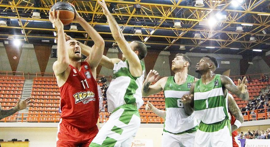 Κύπελλο Ελλάδος Μπάσκετ: Φάρος ΓΣΛ - Ολυμπιακός 67-97 (video)
