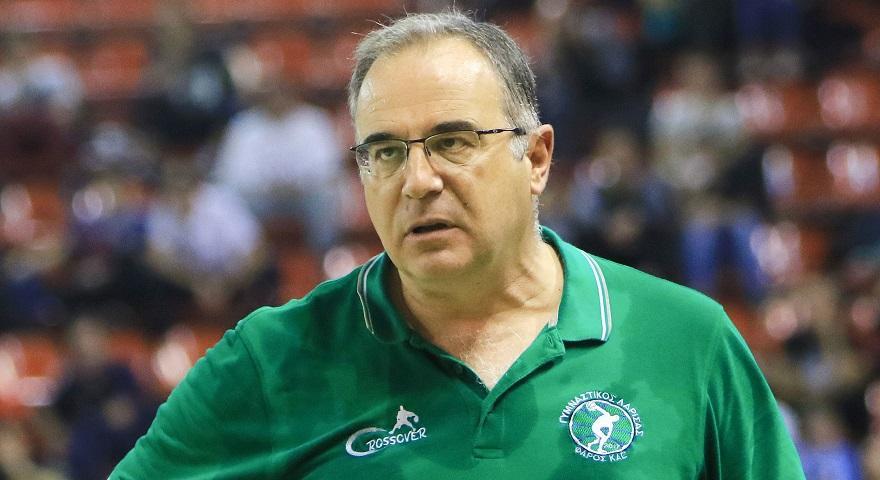 Σκουρτόπουλος: «Ανταποκριθήκαμε σε έναν βαθμό με τον Ολυμπιακό»