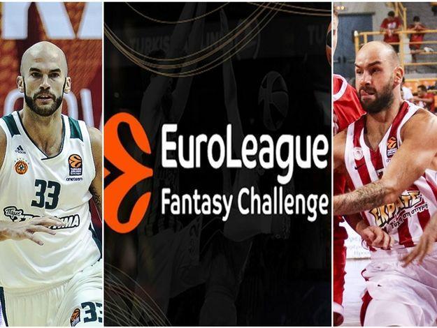 Euroleague Fantasy: Παίξε στην EurohoopsLeague και κέρδισε!