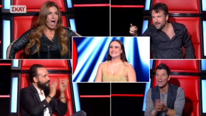 The Voice: Η Κύπρια διαγωνιζόμενη προκάλεσε πανικό! Τρελάθηκε η Παπαρίζου, πέταξε το σακάκι της!