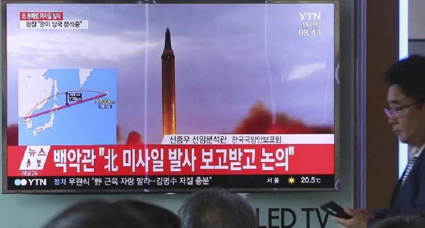 Β. Κορέα: Ετοιμάζει δοκιμή πυραύλου-Μπορεί να πλήξει στη δυτ. ακτή των ΗΠΑ