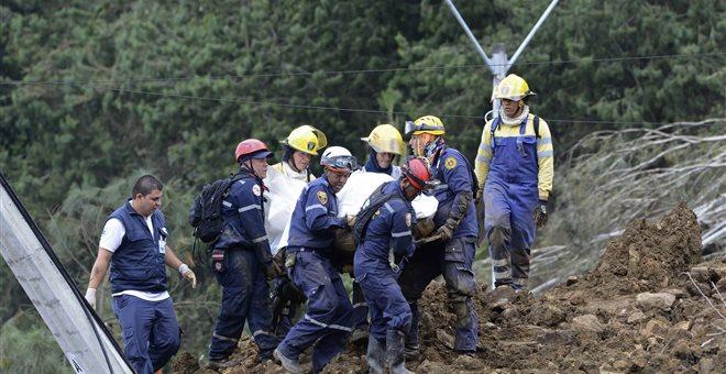 Έξι νεκροί από κατολίσθηση σε χρυσωρυχείο της Κολομβίας