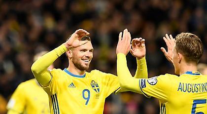 Κι άλλο γκολ ο Μπεργκ με την Σουηδία (video)