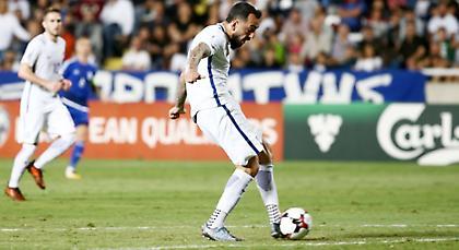LIVE μετάδοση: Κύπρος-Ελλάδα 1-2 (Τελικό)