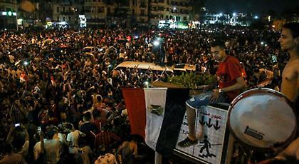 «Κάηκε» το Κάιρο για την πρόκριση της Αιγύπτου στο Παγκόσμιο Κύπελλο (vid+pics)