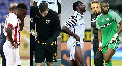 ΘΕΜΑ: Η μάστιγα των μυϊκών τραυματισμών στους «Big 4» της Super League