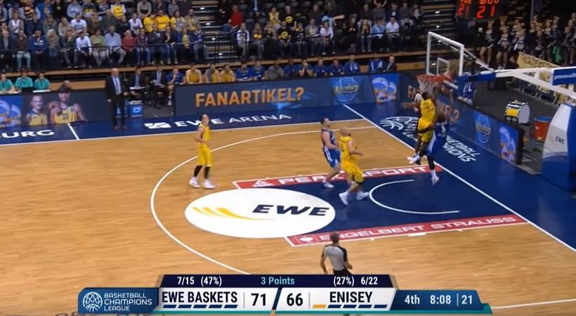Απίθανο Top 5 στο Basketball Champions League (video)