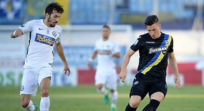 LIVE μετάδοση: Ατρόμητος-Αστέρας Τρίπολης 1-0