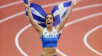 Δεν σταματούν οι διακρίσεις: Κορυφαία αθλήτρια στην Ευρώπη για το 2017 η Στεφανίδη!