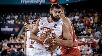 Κάλεσε παίκτες Ευρωλίγκας το Μαυροβούνιο για τα προκριματικά