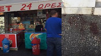 Σκηνές-σοκ από τη ληστεία με καλάσνικοφ στο Π. Φάληρο (video)