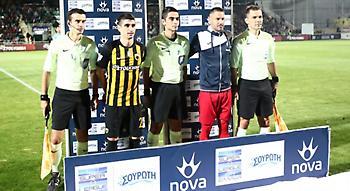 Δεν παραπέμπεται ο διαιτητής Παπαδόπουλος για το Ξάνθη-ΑΕΚ