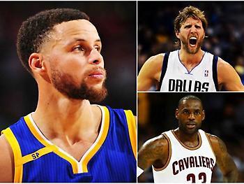 NBA: Τα milestones που κυνηγούν Κάρι, Λεμπρόν, Νοβίτσκι και όχι μόνο!