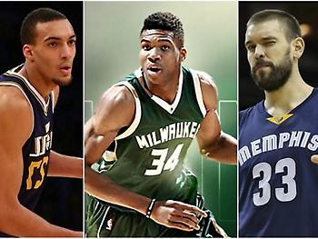 Αυτοί είναι οι top 10 Ευρωπαίοι του NBA!