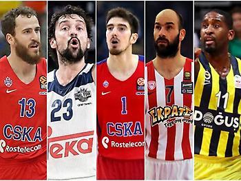 Ευρωλίγκα: Οι TOP 5 παίκτες!