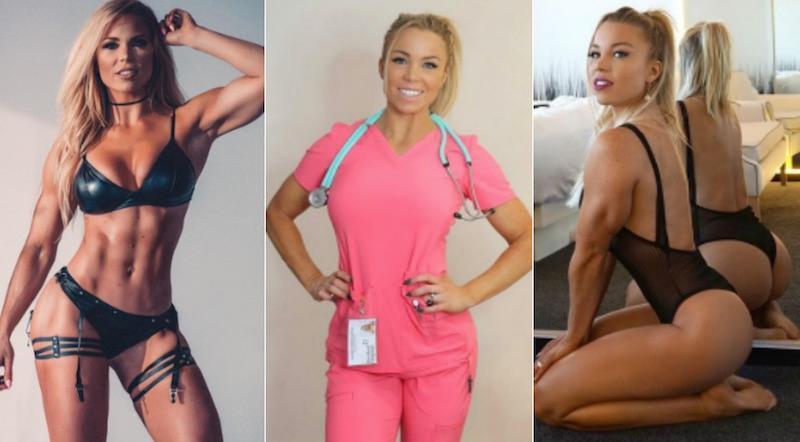 Η απόλυτη φαντασίωση: Αυτή η νοσοκόμα θα σε... αρρωστήσει (pics)