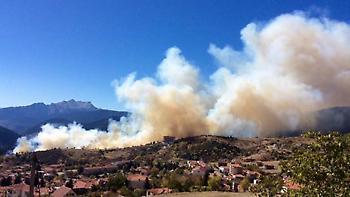 Δύο συλλήψεις για τη μεγάλη πυρκαγιά στο Καρπενήσι